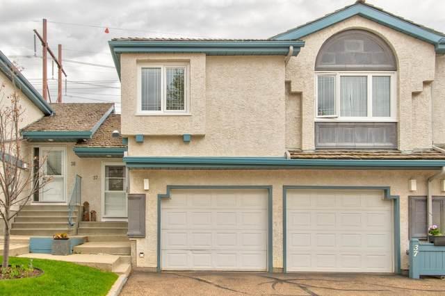 37 1130 Falconer Road, Edmonton, AB T6R 2J6 (#E4245985) :: The Good Real Estate Company