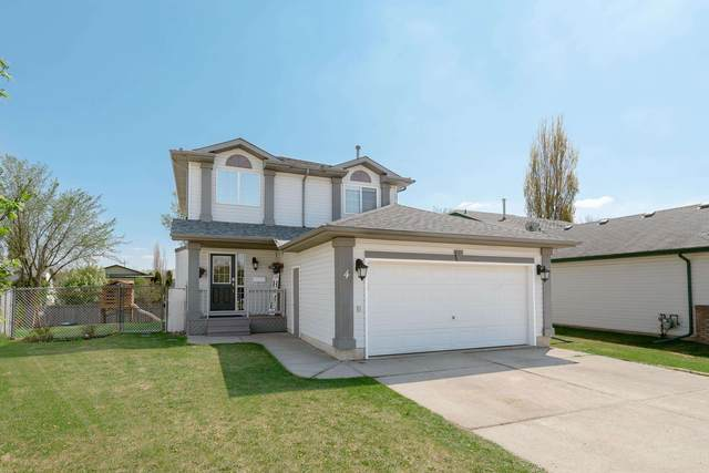4 Creekside Way, Spruce Grove, AB T7X 3Y7 (#E4246310) :: The Good Real Estate Company