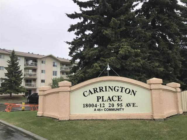 405 18020 95 Avenue, Edmonton, AB T5T 6B2 (#E4246782) :: The Foundry Real Estate Company