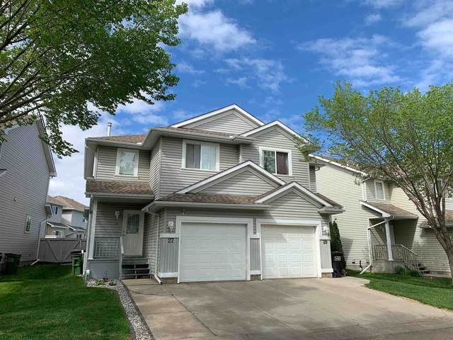 27 4020 21 Street, Edmonton, AB T6T 1T8 (#E4247158) :: The Good Real Estate Company