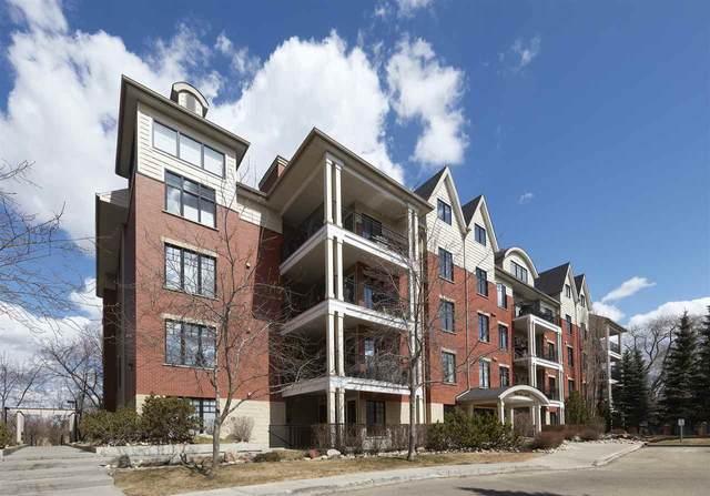209 9811 96A Street, Edmonton, AB T6A 4A4 (#E4247252) :: The Good Real Estate Company