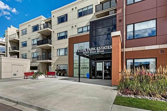 410 5001 Eton Boulevard, Sherwood Park, AB T8H 0N7 (#E4247374) :: Initia Real Estate
