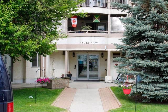 103 11218 80 Street, Edmonton, AB T5B 4V9 (#E4247387) :: The Foundry Real Estate Company