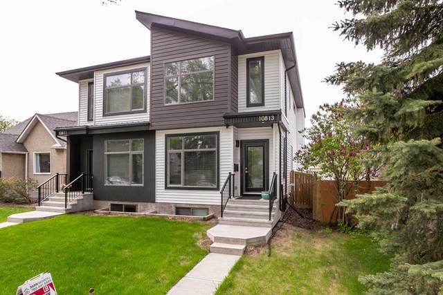 10813 63 Avenue, Edmonton, AB T6H 1P9 (#E4247426) :: The Foundry Real Estate Company