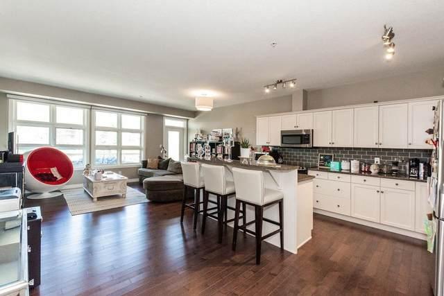 207 9603 98 Avenue NW, Edmonton, AB T6C 2E2 (#E4247607) :: The Good Real Estate Company