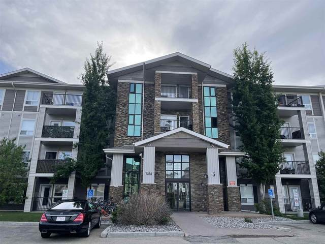 5109 7335 South Terwillegar Drive, Edmonton, AB T6R 0M1 (#E4247659) :: The Good Real Estate Company