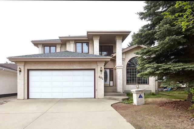 491 Burton Road, Edmonton, AB T6R 2B1 (#E4247954) :: The Good Real Estate Company