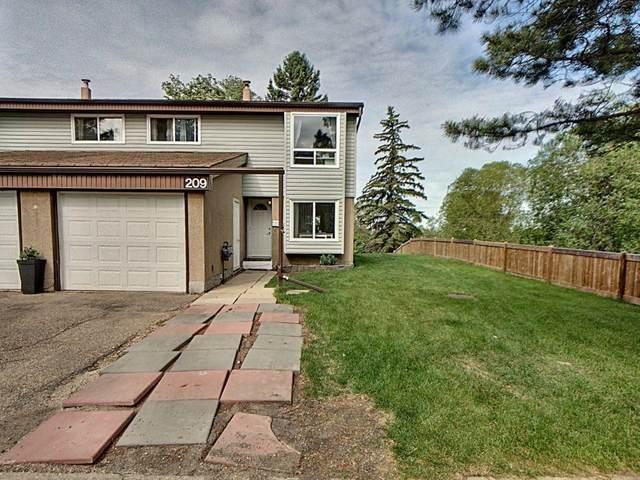 209 Grandin Village, St. Albert, AB T8N 2J3 (#E4248116) :: Initia Real Estate