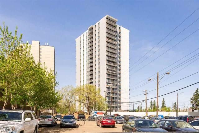 404 10135 Saskatchewan Drive, Edmonton, AB T6E 4X9 (#E4248298) :: The Good Real Estate Company