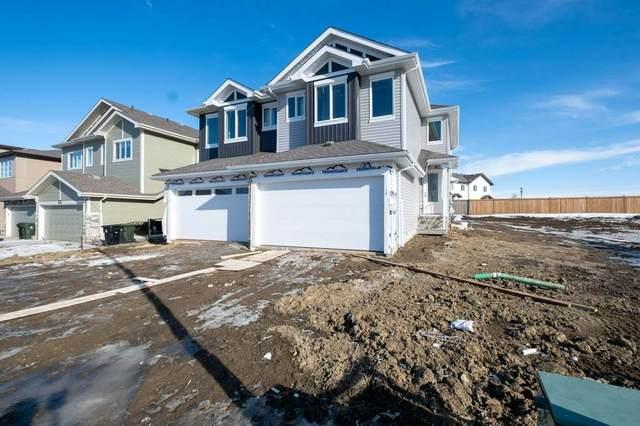 74 Springbrook Wynd, Spruce Grove, AB T7X 0X9 (#E4248338) :: The Good Real Estate Company