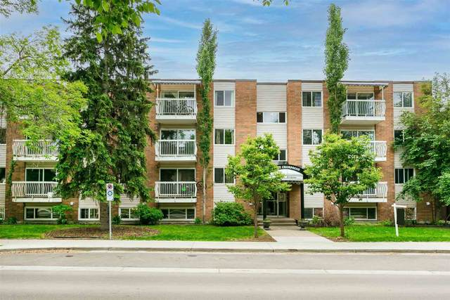 403 10625 83 Avenue, Edmonton, AB T6E 2E3 (#E4248524) :: The Good Real Estate Company