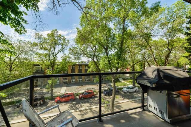 303 10006 83 Avenue, Edmonton, AB T6E 2C2 (#E4248567) :: The Good Real Estate Company