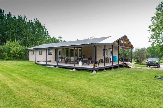 47403 Range Road 43, Rural Brazeau County, AB T0C 0P0 (#E4248579) :: The Good Real Estate Company