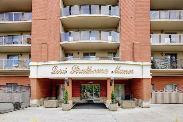 905 10649 Saskatchewan Drive, Edmonton, AB T6E 6S8 (#E4248620) :: The Good Real Estate Company