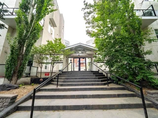407 10711 83rd Ave NW, Edmonton, AB T6E 2E5 (#E4248698) :: Initia Real Estate
