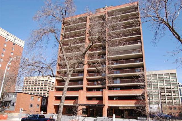 903 9917 110 Street, Edmonton, AB T5K 2N4 (#E4248713) :: The Good Real Estate Company