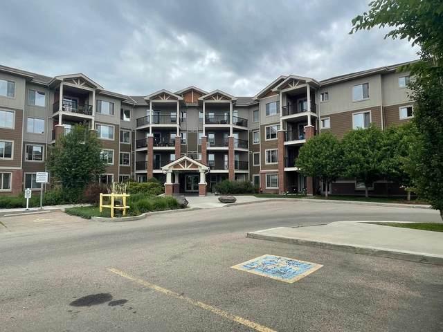 410 3719 Whitelaw Lane, Edmonton, AB T6W 2C3 (#E4248815) :: The Good Real Estate Company