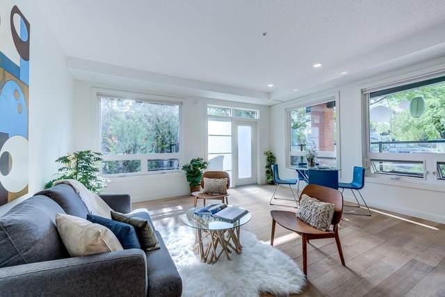 103 10606 84 Avenue NW, Edmonton, AB T6E 2H6 (#E4248899) :: The Good Real Estate Company