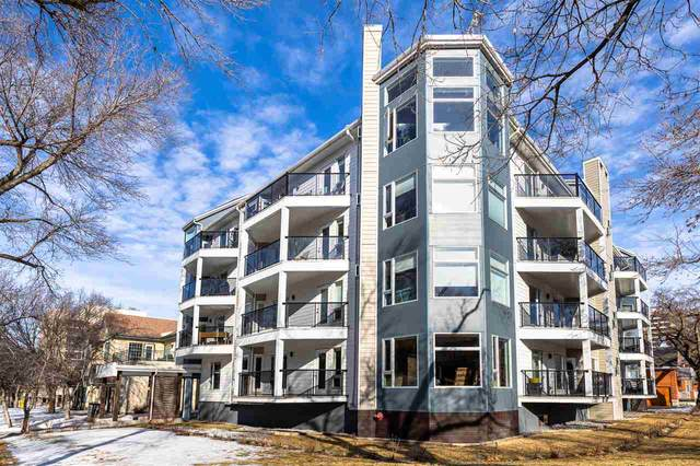 204 9905 112 Street, Edmonton, AB T5K 1L6 (#E4249003) :: The Good Real Estate Company