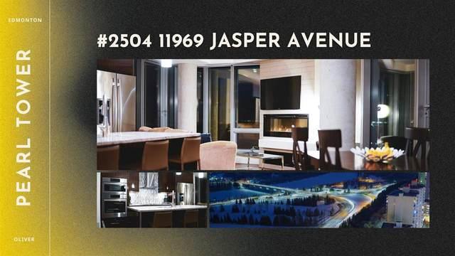2504 11969 Jasper Avenue, Edmonton, AB T5K 0P1 (#E4249005) :: The Good Real Estate Company