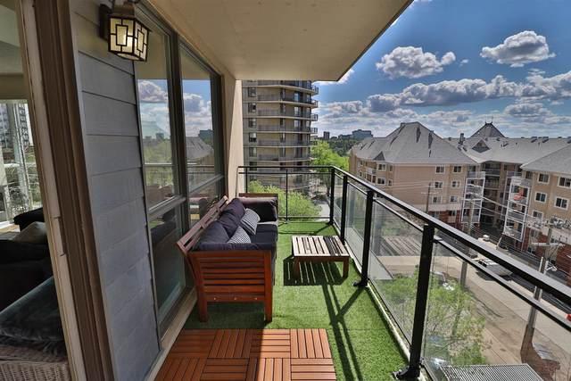602 10046 117 Street, Edmonton, AB T5K 1X2 (#E4249030) :: The Good Real Estate Company