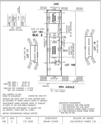 11134 49 Avenue, Edmonton, AB T6H 0G6 (#E4249057) :: Initia Real Estate