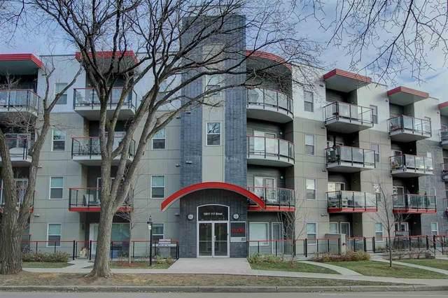 310 10611 117 Street, Edmonton, AB T5H 0G6 (#E4249061) :: Müve Team   RE/MAX Elite