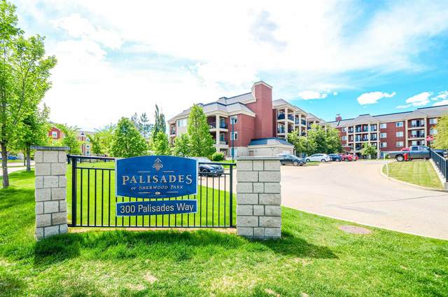 102 300 Palisades Way, Sherwood Park, AB T8H 2T9 (#E4249141) :: The Foundry Real Estate Company