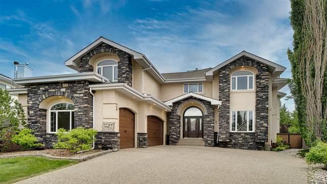 462 Butchart Drive, Edmonton, AB T6R 2N8 (#E4249239) :: The Good Real Estate Company