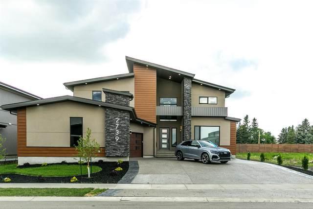 2739 Wheaton Drive, Edmonton, AB T6W 2M5 (#E4249365) :: The Good Real Estate Company