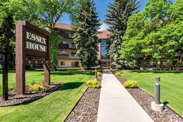 312 5520 Riverbend Road, Edmonton, AB T6H 5G9 (#E4249489) :: The Foundry Real Estate Company