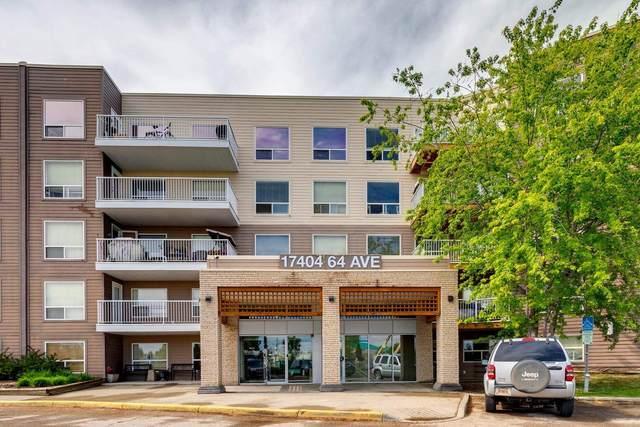 304 17404 64 Avenue, Edmonton, AB T5T 6X4 (#E4249577) :: The Foundry Real Estate Company