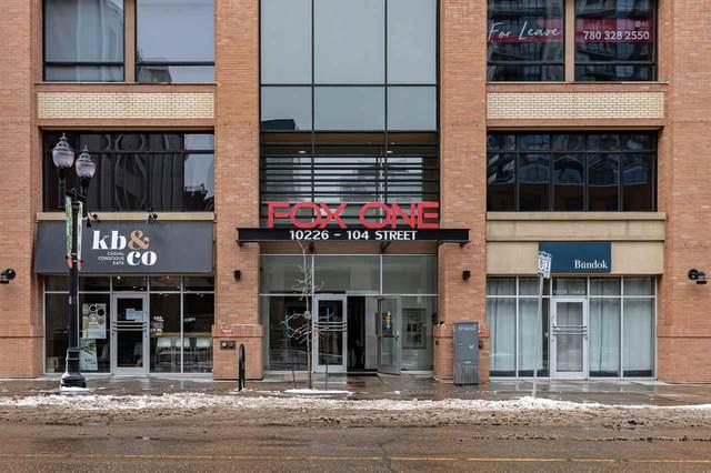 2003 10226 104 Street, Edmonton, AB T5J 1B8 (#E4249639) :: Müve Team | RE/MAX Elite