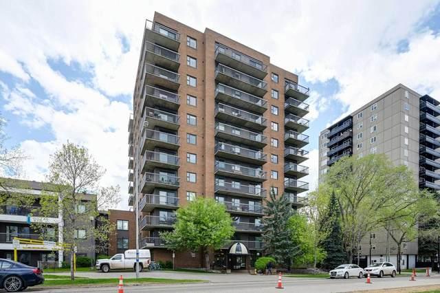 1003 10545 Saskatchewan Drive, Edmonton, AB T6E 6C6 (#E4249937) :: Initia Real Estate