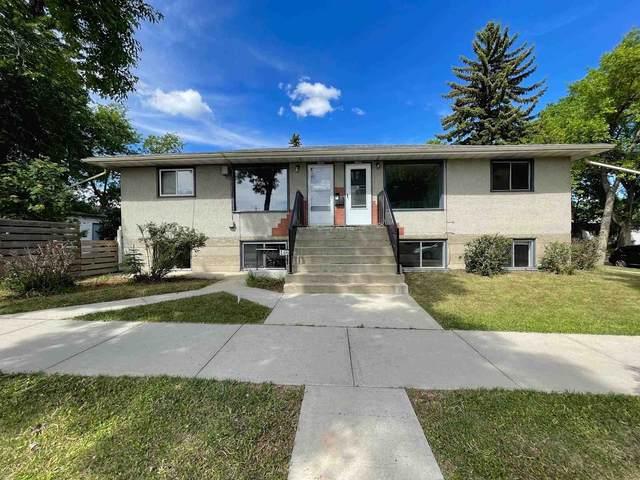 #9606 #9604 124 Avenue, Edmonton, AB T5G 0V9 (#E4250094) :: Initia Real Estate