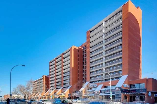 604 10125 109 Street, Edmonton, AB T5I 3P1 (#E4250101) :: The Good Real Estate Company