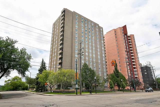 1003 12303 Jasper Avenue, Edmonton, AB T5N 3R7 (#E4250184) :: Initia Real Estate