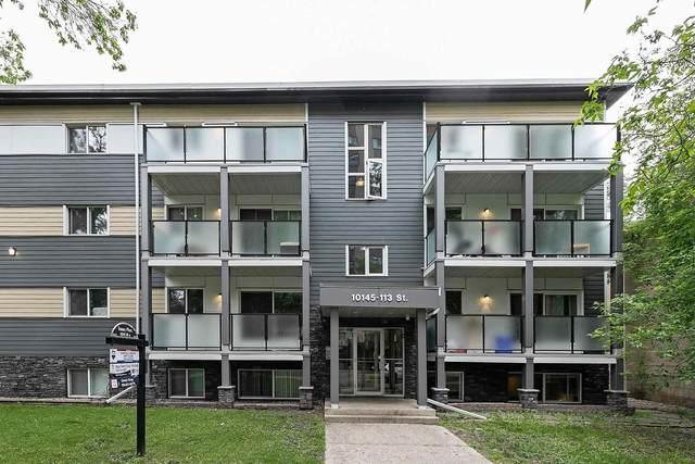403 10145 113 Street NW, Edmonton, AB T5K 1G1 (#E4250398) :: Initia Real Estate