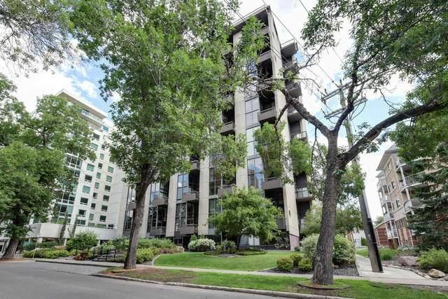 1206 10045 118 Street, Edmonton, AB T5K 2K2 (#E4250429) :: Initia Real Estate