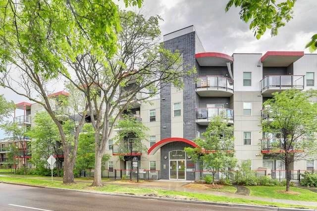 403 10611 117 Street, Edmonton, AB T5H 0G6 (#E4250587) :: The Foundry Real Estate Company