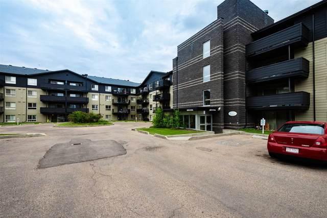 108 17011 67 Avenue SE, Edmonton, AB T5T 6Y6 (#E4250592) :: The Foundry Real Estate Company