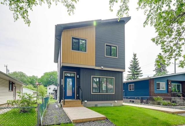 11819 & 11821 53 Street NW, Edmonton, AB T5W 3L3 (#E4250697) :: The Foundry Real Estate Company