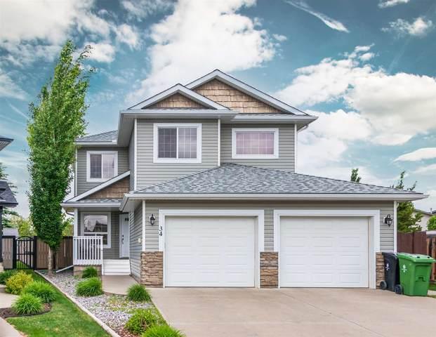 34 Ash Point(E), Fort Saskatchewan, AB T8L 4R9 (#E4250748) :: The Foundry Real Estate Company
