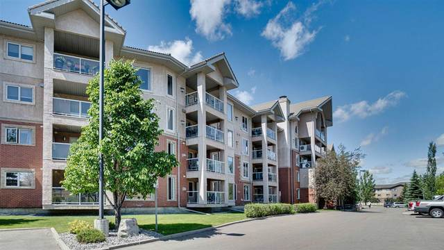 111 200 Bethel Drive, Sherwood Park, AB T8H 2C5 (#E4250777) :: The Foundry Real Estate Company