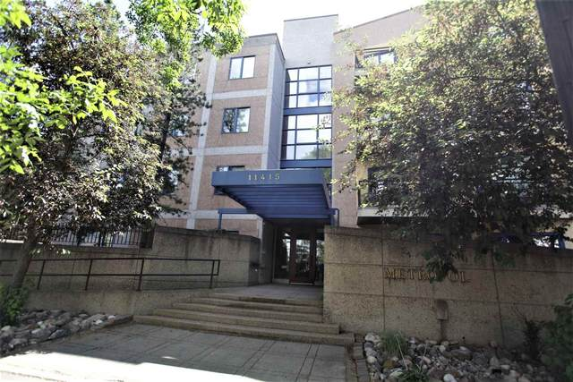 401 11415 100 Avenue NW, Edmonton, AB T5K 0T5 (#E4250872) :: Initia Real Estate