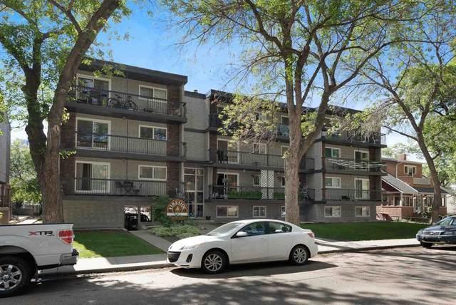 101 10420 93 Street, Edmonton, AB T5H 1X4 (#E4250935) :: Initia Real Estate