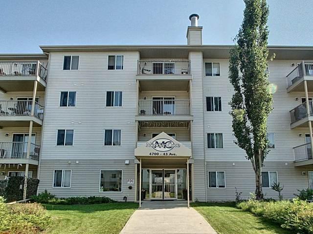 406 - 4700 43 Avenue, Stony Plain, AB T7Z 2S6 (#E4252367) :: Initia Real Estate
