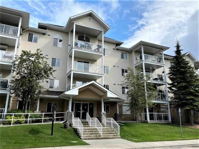 309 5116 49 Avenue, Leduc, AB T9E 8K1 (#E4252648) :: The Good Real Estate Company