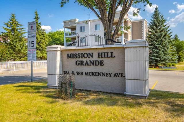 332 78 A Mckenney Avenue, St. Albert, AB T8N 7E6 (#E4253818) :: The Good Real Estate Company