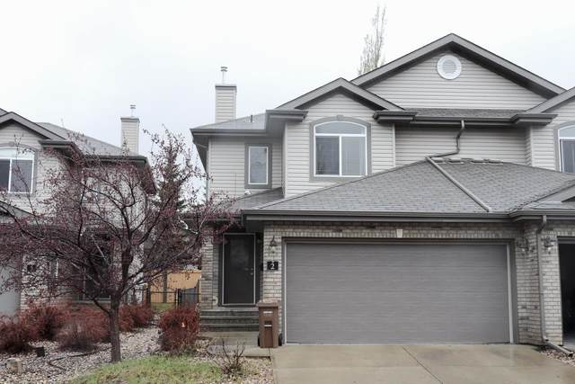 2 20 Norman Court, St. Albert, AB T8N 7K4 (#E4254683) :: The Good Real Estate Company